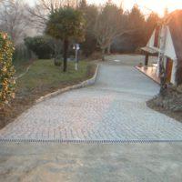 Pavés Granit gris 10x10