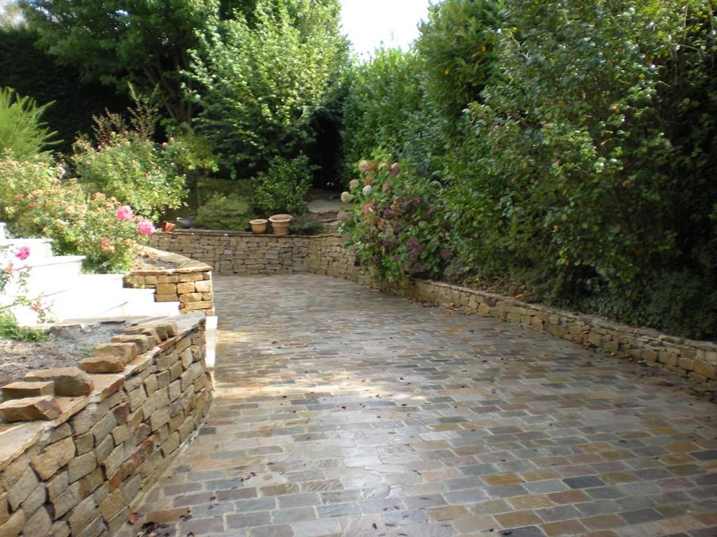 les jardins d 39 alain am nagement des acc s et des entr es de jardins par alain rigaux. Black Bedroom Furniture Sets. Home Design Ideas