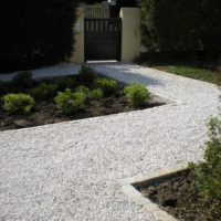 Gravier de marbre Blanc Sost